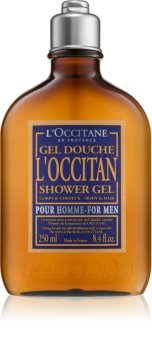 L'Occitane Homme gel de dus pentru corp si par pentru bărbați