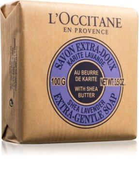 L'Occitane Lavender Extra-Gentle Soap extra gyengéd szappan