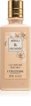 L'Occitane Neroli & Orchidée тоалетно мляко за тяло за жени