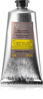 L'Occitane Cedrat hĺbkovo hydratačný krémový gél po holení
