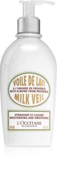 L'Occitane Amande Milk Veil hydratační tělové mléko s vyhlazujícím efektem