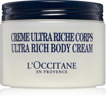 L'Occitane Shea Butter Ultra Rich Body Cream Nourishing Body Cream  For Dry To Very Dry Skin