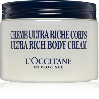 L'Occitane Shea Butter Ultra Rich Body Cream výživný tělový krém  pro suchou až velmi suchou pokožku
