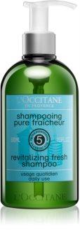 L'Occitane Aromachologie revitalizačný šampón s pumpičkou