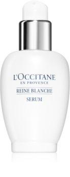 L'Occitane Reine Blanche serum rozświetlające do twarzy przeciw przebarwieniom skóry