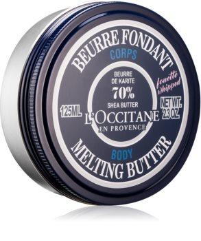 L'Occitane Karité Melting Butter tápláló testápoló krém