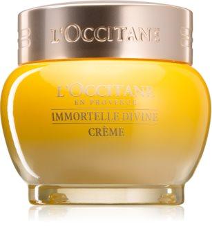 L'Occitane Immortelle Divine Cream Kasvovoide Ryppyjä Ehkäisevän Vaikutuksen Kanssa
