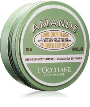 L'Occitane Amande Delightful Body Balm zjemňující tělový balzám