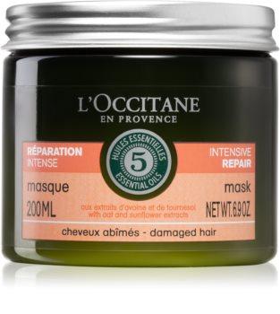 L'Occitane Aromachologie mascarilla intensa para cabello maltratado o dañado