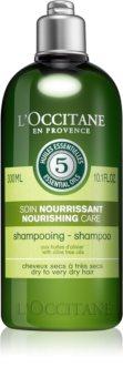 L'Occitane Aromachologie intenzivní vyživující šampon na suché vlasy
