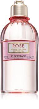 L'Occitane Rose Shower Gel tusfürdő gél rózsa illattal