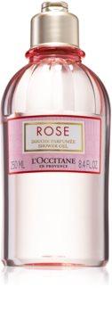 L'Occitane Rose sprchový gel s vůní růží