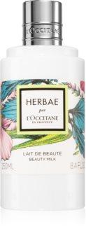 L'Occitane Herbae parfümös testápoló tej