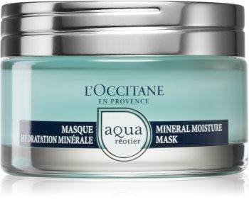L'Occitane Aqua Réotier intenzívna hydratačná maska pre suchú pleť