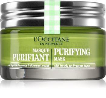 L'Occitane Aqua Réotier čisticí pleťová maska