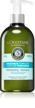 L'Occitane Purifying Freshness Shampoo frissítő sampon