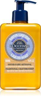 L'Occitane Karité Flüssigseife mit Bambus Butter
