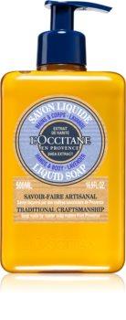 L'Occitane Karité folyékony szappan bambusszal