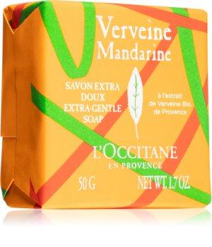 L'Occitane Verveine Mandarine Extra-Gentle Soap tuhé mýdlo s parfemací