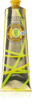 L'Occitane Shea Butter Bergamot Light Hand Cream krém na ruce s bambuckým máslem