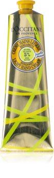 L'Occitane Shea Butter Bergamot Light Hand Cream krema za ruke sa shea maslacem