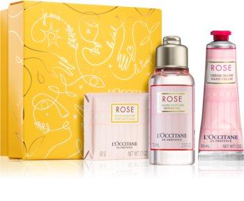 L'Occitane Rose Sophisticated Rose Discovery Set подаръчен комплект (за жени )