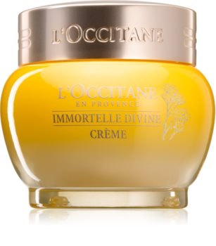 L'Occitane Immortelle Divine Crème krem do twarzy przeciw starzeniu się skóry