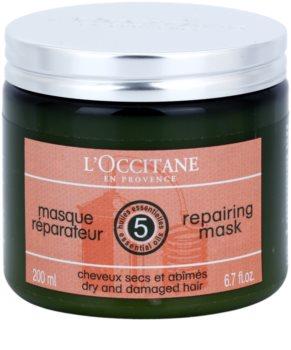 L'Occitane Hair Care mascarilla hidratante y regeneradora para cabello con manteca de karité