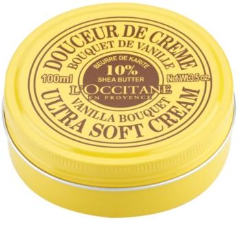 L'Occitane L'Occitane Shea Butter creme corporal suave com baunilha