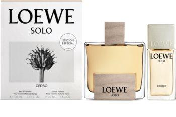 Loewe Solo Cedro coffret cadeau I. pour homme