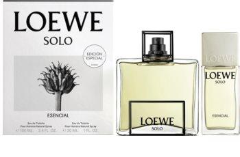 Loewe Solo Esencial Gift Set I. for Men