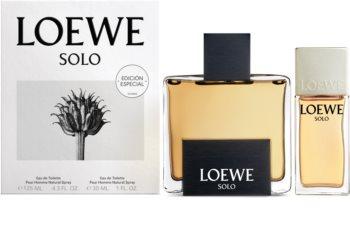 Loewe Solo Gift Set  I. voor Mannen