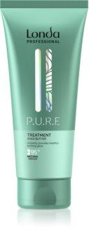 Londa Professional P.U.R.E vyživující maska pro poškozené vlasy