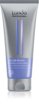 Londa Professional Blond and Silver Maske für die Haare neutralisiert gelbe Verfärbungen