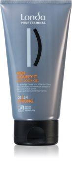 Londa Professional Men stylingový gel pro mokrý vzhled