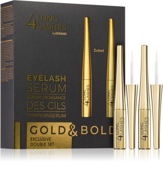 Long 4 Lashes Lash Gift Set (To Support The Growth Of Eyelashes)