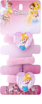 Lora Beauty Disney Cinderella gomas para cabello en forma de corazón