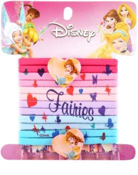 Lora Beauty Disney Princess Elástico plásticos de cabelo, 12 peças