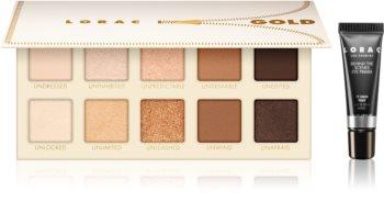 Lorac UNZIPPED™ Gold palette de fards à paupières + base