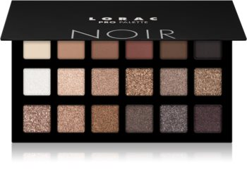 Lorac PRO palette de fards à paupières 18 couleurs