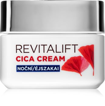 L'Oréal Paris Revitalift Cica Cream éjszakai krém a ráncok ellen