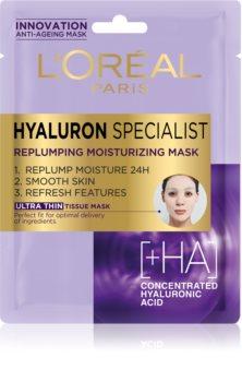 L'Oréal Paris Hyaluron Specialist masque tissu