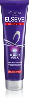 L'Oréal Paris Elseve Color-Vive Purple Voedende Masker  voor Blond en Highlighted Haar