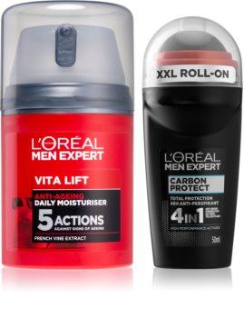 L'Oréal Paris Men Expert Carbon Protect комплект (за ежедневна употреба) за мъже