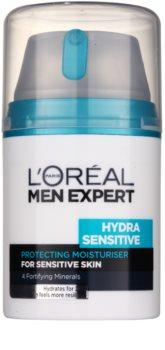 L'Oréal Paris Men Expert Hydra Sensitive crema hidratante para pieles sensibles