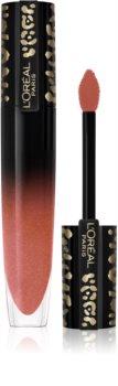 L'Oréal Paris Brilliant Signature Wild Nudes folyékony rúzs magasfényű
