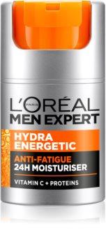 L'Oréal Paris Men Expert Hydra Energetic cremă hidratantă semne de oboseala