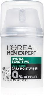 L'Oréal Paris Men Expert Hydra Sensitive nyugtató és hidratáló krém az érzékeny arcbőrre