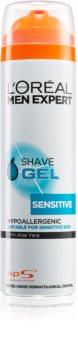 L'Oréal Paris Men Expert Hydra Sensitive гел за бръснене  за чувствителна кожа на лицето