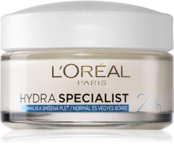 L'Oréal Paris Hydra Specialist дневен хидратиращ крем  за нормална към смесена кожа